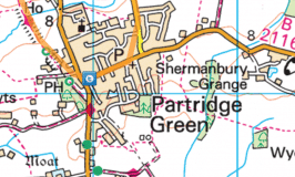 Cycling from Horsham to Partridge Green (and back)