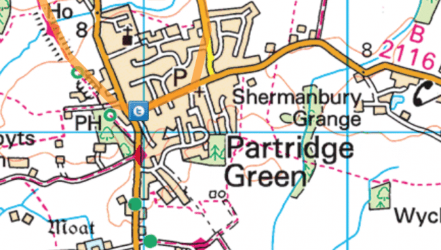 <span class='p-name'>Cycling from Horsham to Partridge Green (and back)</span>