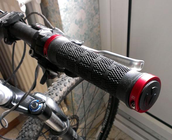 New Bontrager handlebar grips