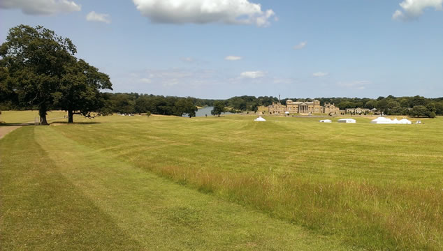 Holkham Hall in Norfolk